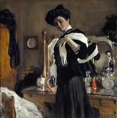 Portrait of Henriette Girshman