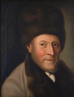 Portrait of Isaac Jacob Gans