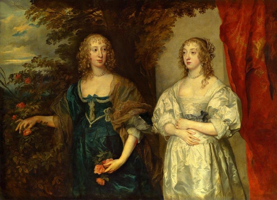 Portrait of Lady Dobbins and Countess Portland