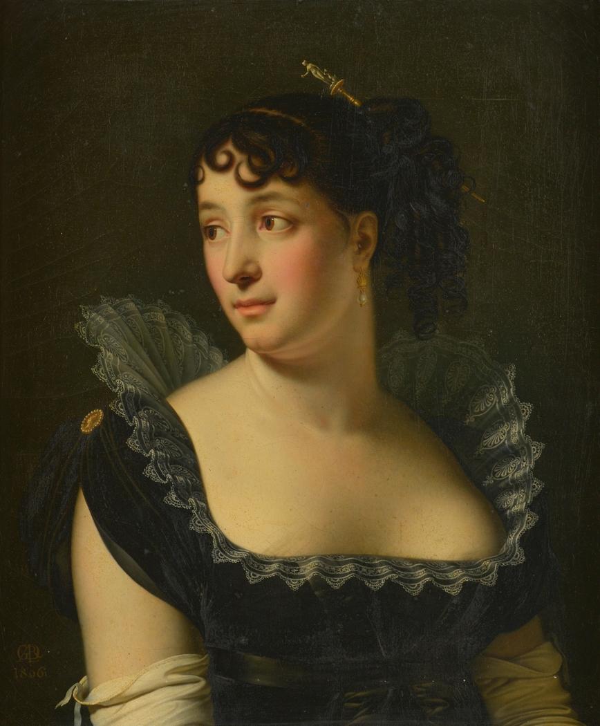 Portrait of Madame Bertin de Veaux