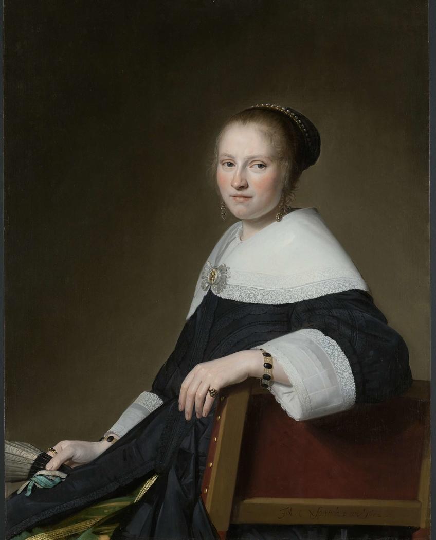 Portrait of Maria van Strijp
