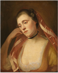 Portrait of Mrs George Romney (née Mary Abbot), (fl.1756-1823), the Artist's Wife