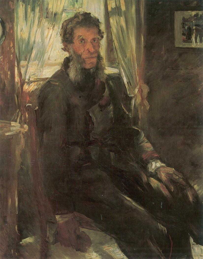 Portrait of Ohm Friedrich Corinth