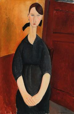 Portrait of Paulette Jourdain