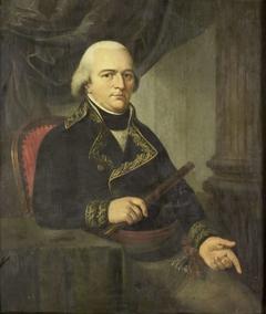 Portrait of Pieter Gerardus van Overstraten, Governor-General of the Dutch East Indies