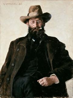 Portrait of Professor Amund Helland