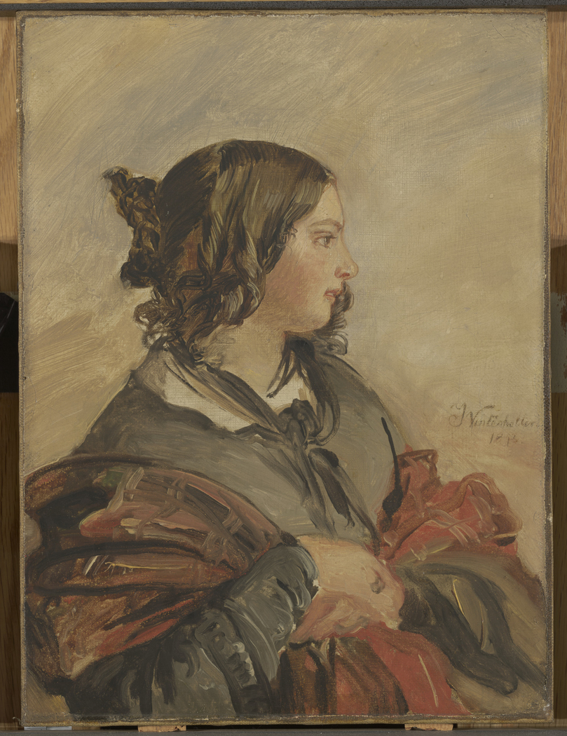 Portrait of the Young QueenVictoria