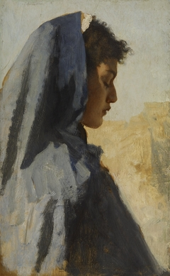 Profile Head of a Young Woman