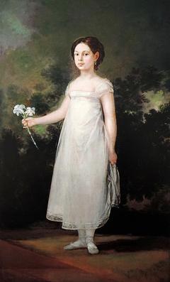 Retrato de la marquesa de Montehermoso