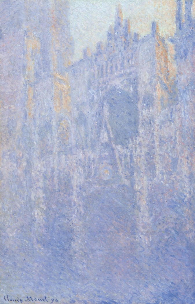 Rouen Cathedral, Portal, Morning Fog