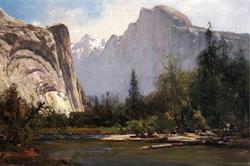 Royal Arches and Half Dome, Yosemite