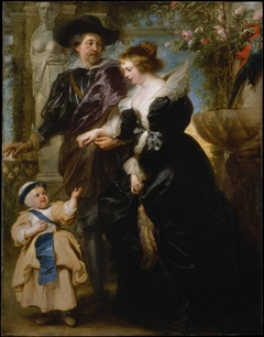 Rubens, His Wife Helena Fourment (1614–1673), and One of Their Children