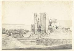 Ruïne van het slot te Oostvoorne