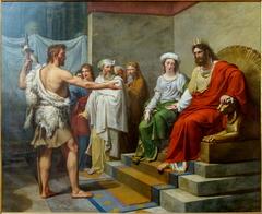 Saint Jean-Baptiste faisant des reproches à Hérode