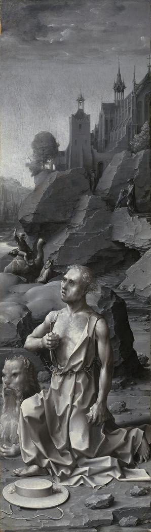 Saint Jerome Penitent [right panel]