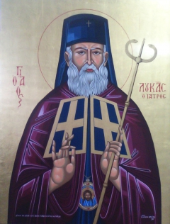 Saint Luke the doctor