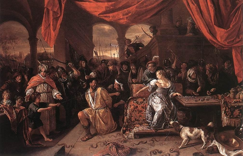 Samson Mocked by the Philistines