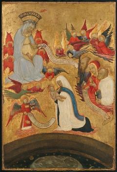 Santa Francesca Romana (1384–1440) Holding the Christ Child