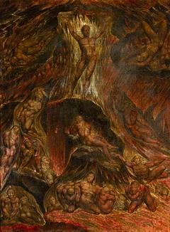 Satan calling up his Legions (from John Milton's 'Paradise Lost')