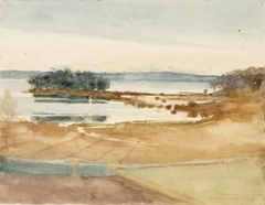 Seashore, Brown Sand