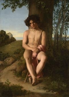 Seated Young Shepherd