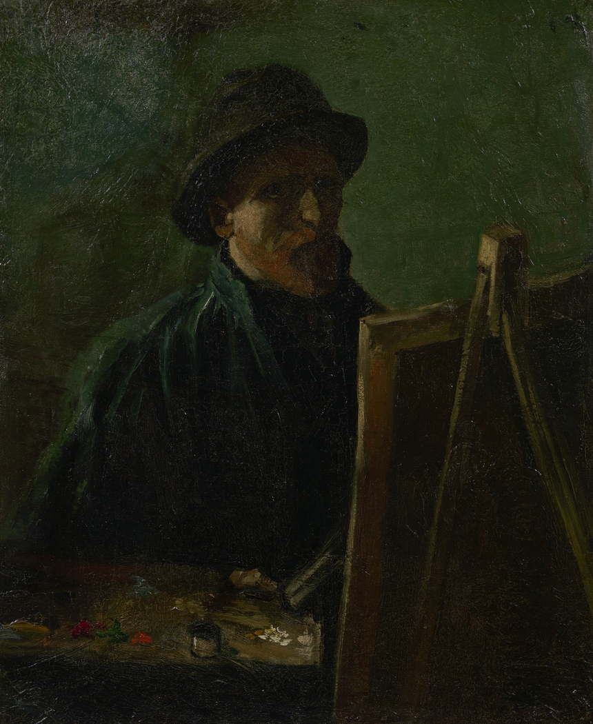 Self-Portrait as an Artist