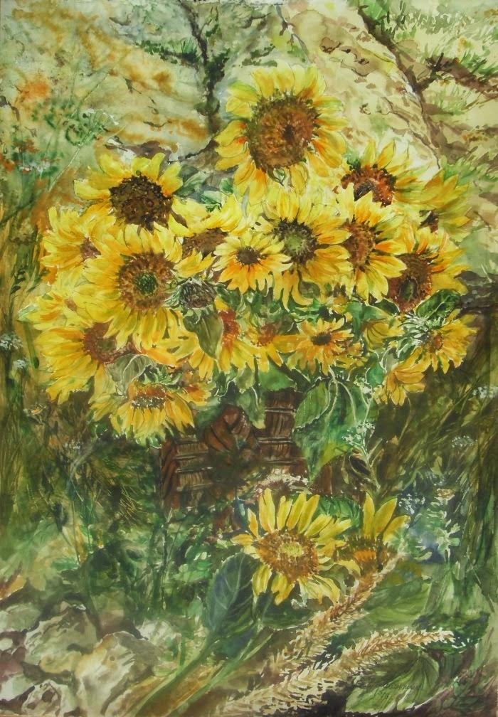 Слънчогледи / Sunflowers