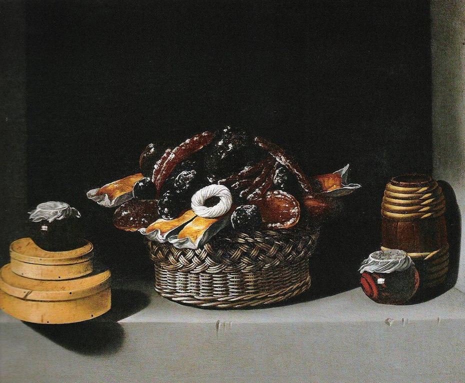 Still-Life with a Basket and Sweetmeats