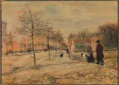 Street Scene--Winter