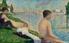 "Study for ""Bathers at Asnières"""