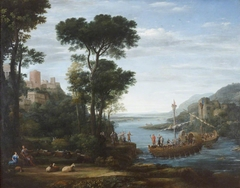 The Arrival of Aeneas at Pallanteum