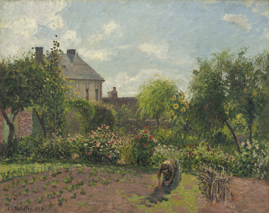 The Artist's Garden at Eragny