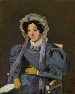 The Artist's Mother (Marie Françoise Oberson, 1769 - 1851)