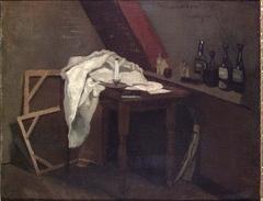 The Artist's Studio in Paris