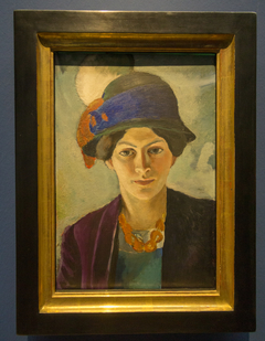 The Artist's Wife with Hat