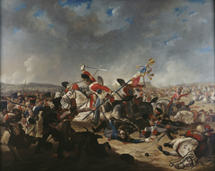 The Battle of Waterloo: The Charge of the Second Brigade of Cavalry