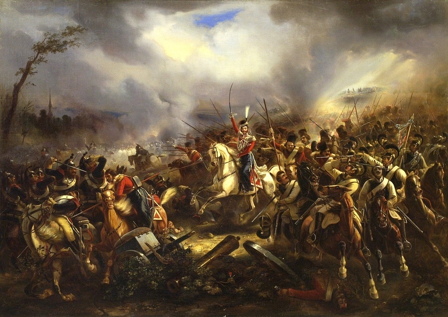 The Charge of the Life Guards Cossacks at Leipzig on 4 October 1813