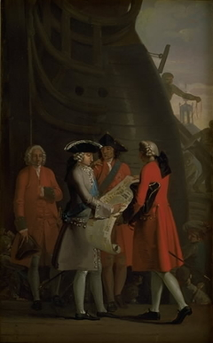 The Construction of Copenhagen´s Dock in the Reign of Christian VI