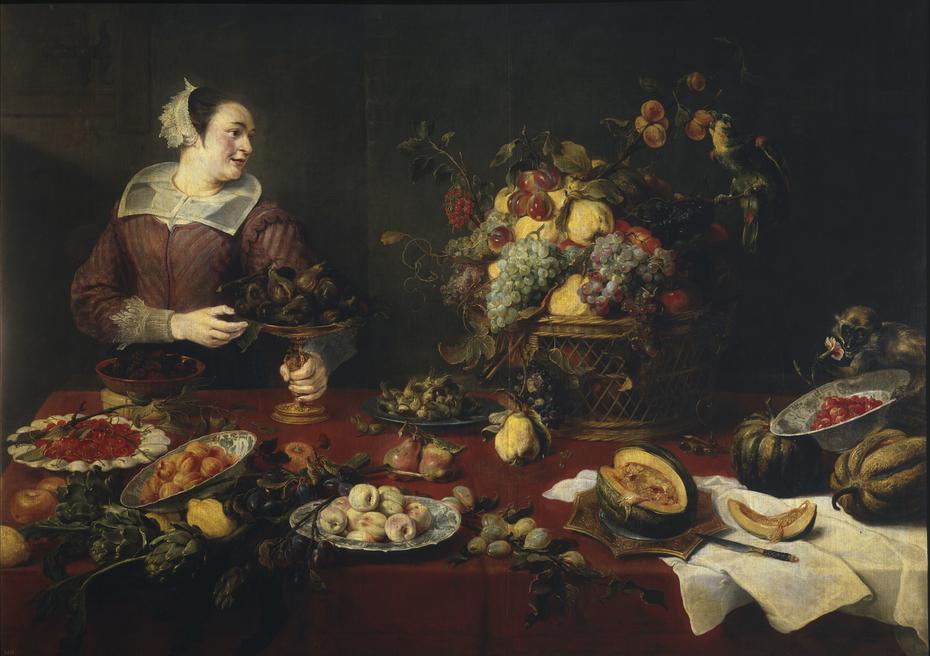 The Fruit Girl