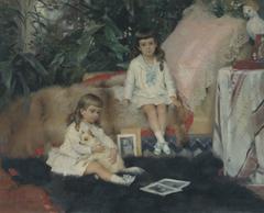 The Grand Dukes Boris and Kirill Vladimirovich as Children