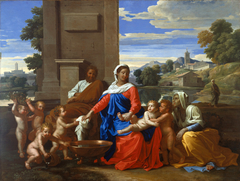 The Holy Family with the Infant Saint John the Baptist and Saint Elizabeth