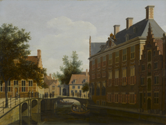 The Oude Zijds Herenlogement (gentlemen's hotel) in Amsterdam