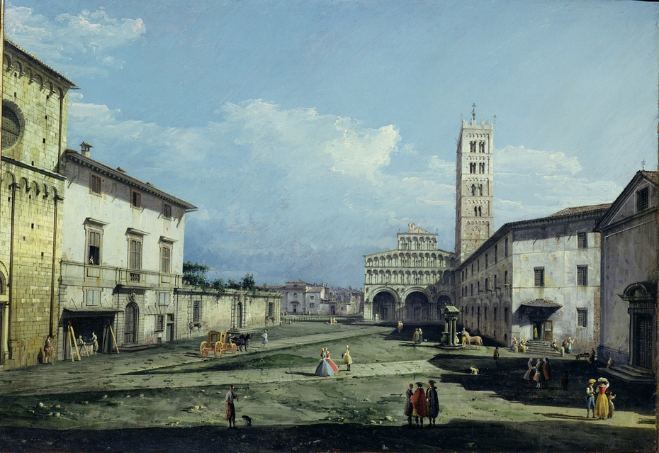 The Piazza San Martino, Lucca