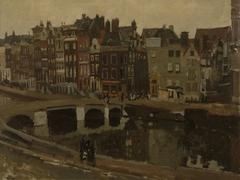 The Rokin in Amsterdam