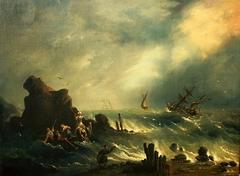 The Storm on the Turkish Coast