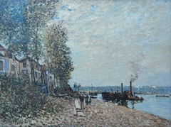 Tugboat on the Loing, Saint-Mammès