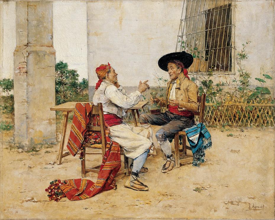 Two Inhabitants of the Valencia Huerta