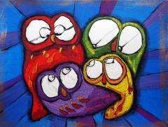 Uglefamilie / Owl family