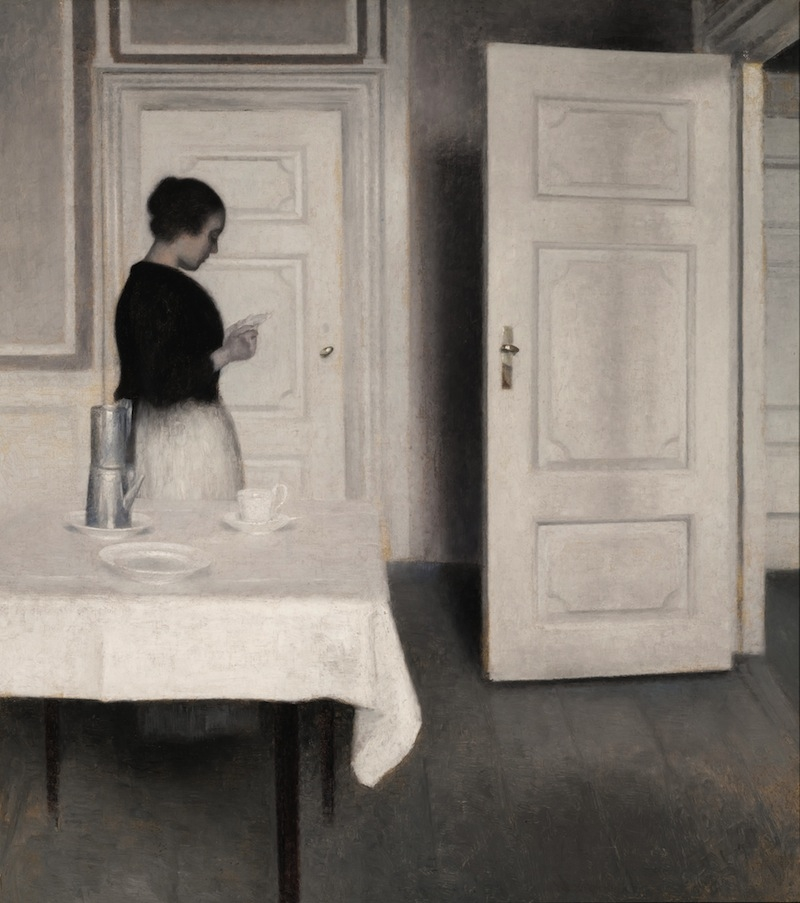 Ida Reading a Letter