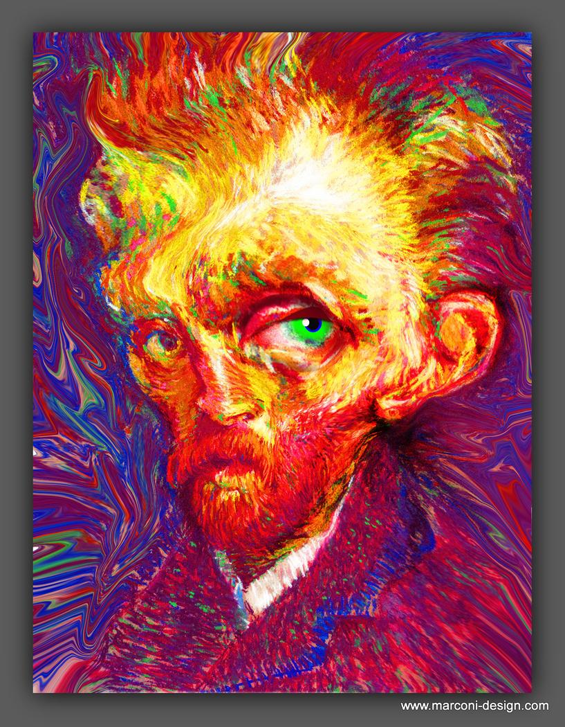 Van Gogh Caricature